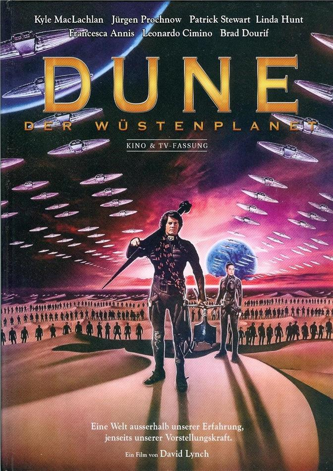 Dune - Der Wüstenplanet (1984) (Cover D, Kinoversion, Limited Edition, Langfassung, Mediabook, Uncut, 3 Blu-rays)