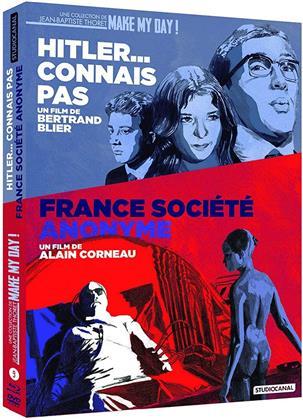 France, société anonyme / Hitler... connais pas (2 Blu-rays + 2 DVDs)