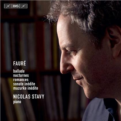 Gabriel Fauré (1845-1924) & Nicolas Stavy - Ballade / Nocturnes / Romances / Sonate / Mazurke (SACD)