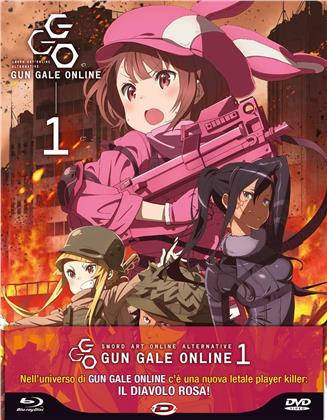 Sword Art Online Alternative - Gun Gale Online - Stagione 1 - Box 1/2 (Digipack, Limited Edition, Blu-ray + DVD)