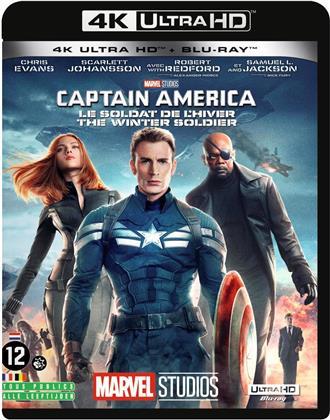 Captain America 2 - Le Soldat de l'hiver (2014) (4K Ultra HD + Blu-ray)
