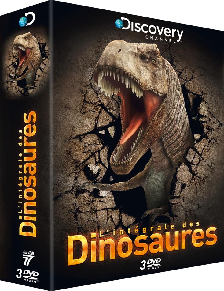 L'intégrale des Dinosaures (Discovery Channel, 3 DVDs)