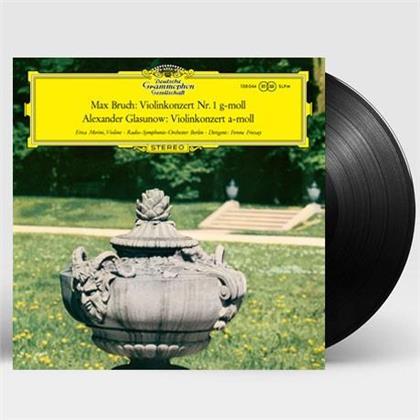Max Bruch (1838-1920), Alexander Konstantinowitsch Glasunow (1865-1936), Ferenc Fricsay, Erica Morini & Deutsches Sinfonie-Orchester Berlin - Violin Concertos (Virgin Vinyl, Universal Music Korea, LP)
