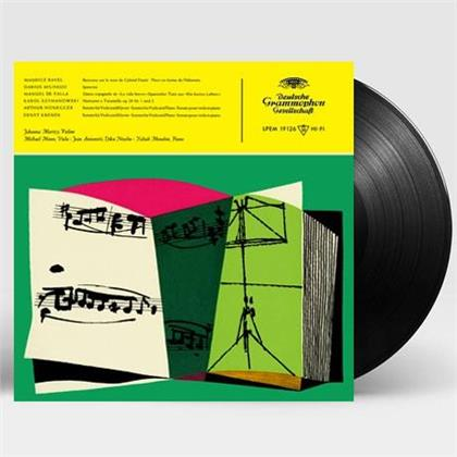 Johanna Martzy - Werke Von Ravel, Milhaud, De Falla, Szymanowski (Virgin Vinyl, Universal Music Korea, LP)