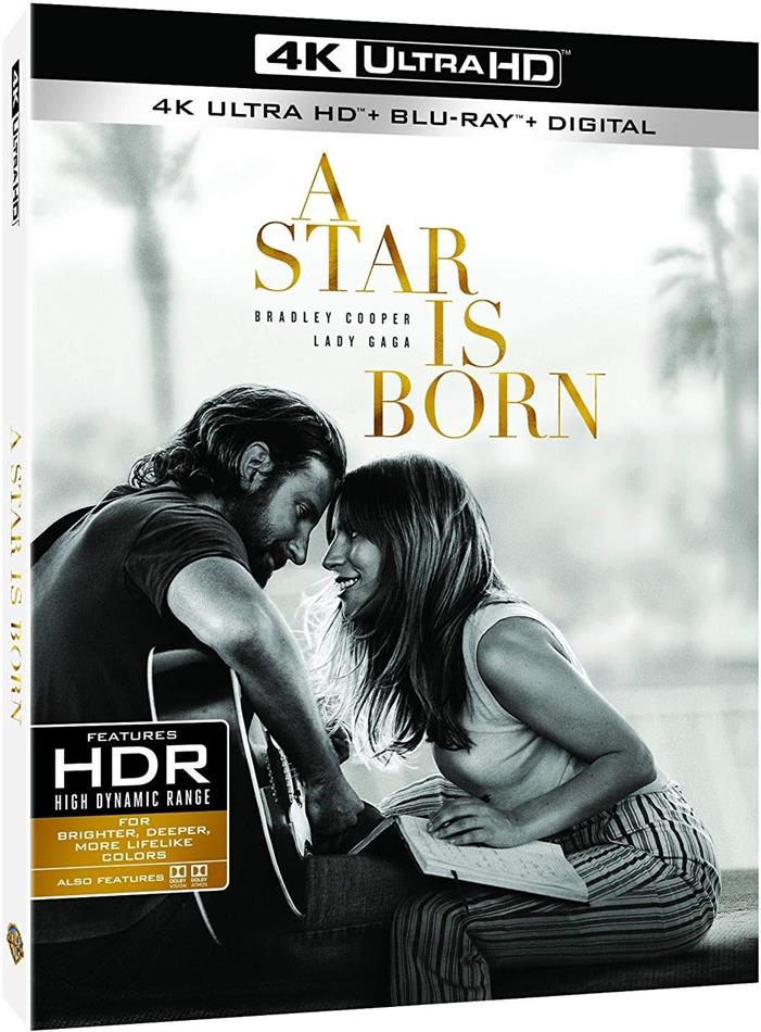 A Star Is Born (2018) (4K Ultra HD + Blu-ray)