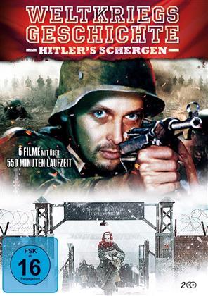 Weltkriegsgeschichte in einer Collection - Hitler's Schergen (2 DVDs)