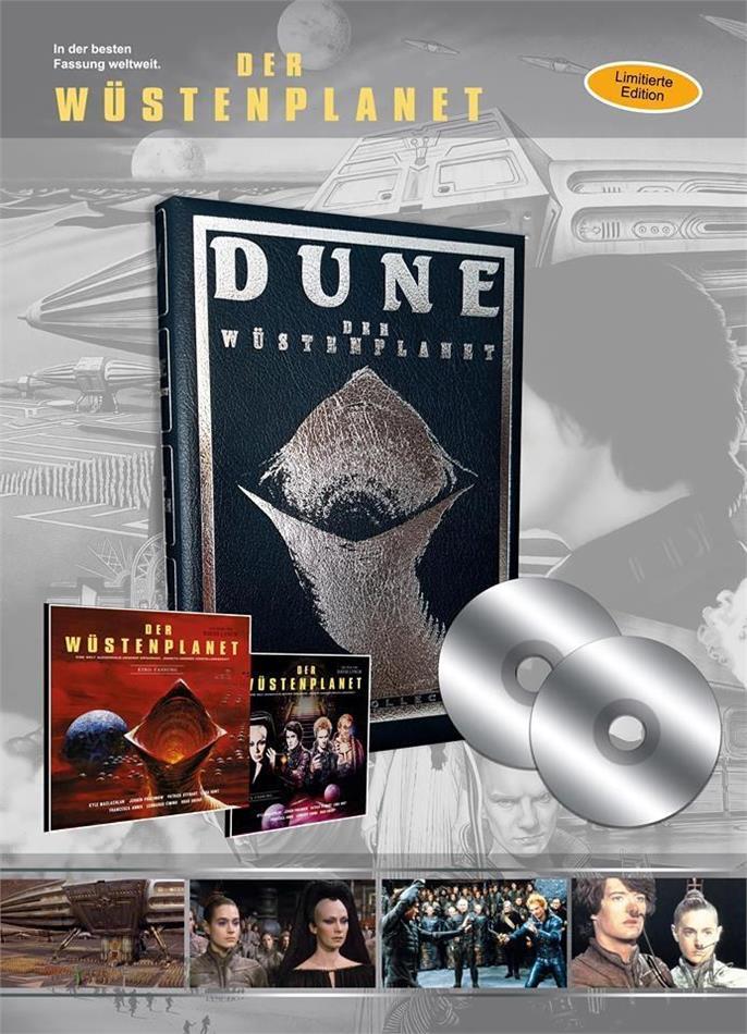 Dune - Der Wüstenplanet (1984) (Leatherbook, Limited Edition, 2 Blu-rays)