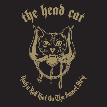 Head Cat (Lemmy/Slim Jim Phantom/Harvey) - Rock N' Roll Riot On The Sunset Strip (2019 Reissue, Limited Edition, Pink Vinyl, LP)
