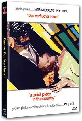 Das verfluchte Haus (1968) (Cover B, Limited Edition, Mediabook, Uncut, Blu-ray + DVD)