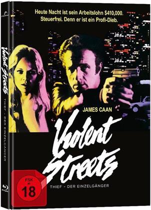 Violent Streets - Thief - Der Einzelgänger (1981) (Limited Edition, Mediabook, 2 Blu-rays)