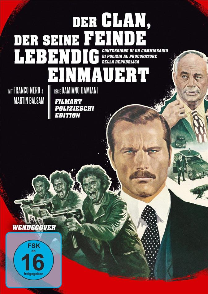Der Clan, der seine Feinde lebendig einmauert (1970) (Filmart Polizieschi Edition, Blu-ray + DVD)