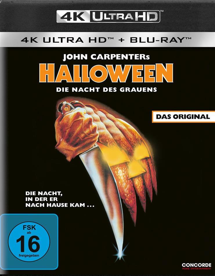 Halloween - Die Nacht des Grauens (1978) (4K Ultra HD + Blu-ray)
