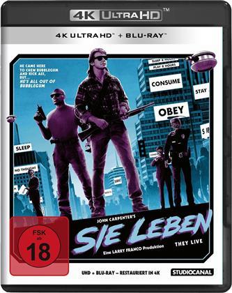 Sie leben / 4K Ultra HD (+BR) (1988)