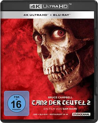 Tanz der Teufel 2 (1987) (Uncut, 4K Ultra HD + Blu-ray)