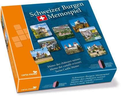 Schweizer Burgen Memospiel
