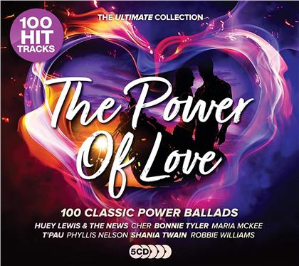 The Power Of Love - Ultimate Soft Rock (5 CDs)