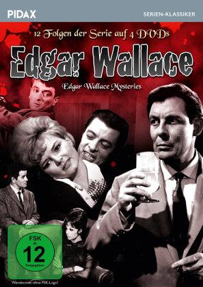 Edgar Wallace - Edgar Wallace Mysteries (Pidax Serien-Klassiker, s/w, 4 DVDs)