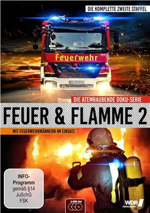 Feuer und Flamme - Mit Feuerwehrmännern im Einsatz - Staffel 2 (3 DVDs)