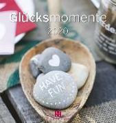 Glücksmomente 2020 Postkartenkalender