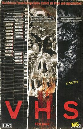 V/H/S - Trilogie (VHS Retro Edition, Limited Edition, Uncut, 3 Blu-rays)