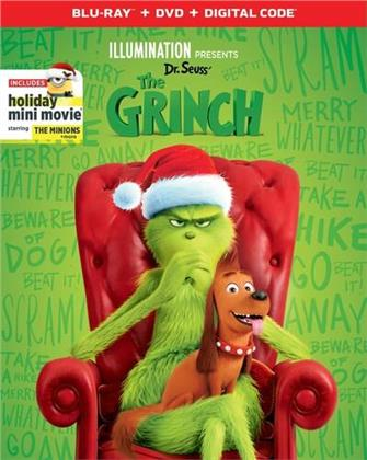 The Grinch (2018) (Blu-ray + DVD)