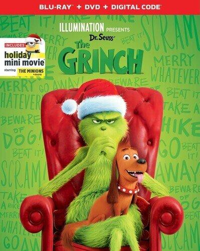 The Grinch (2018) (Blu-ray + DVD)