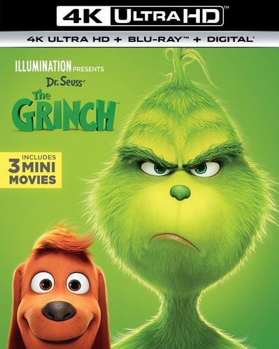 The Grinch (2018) (4K Ultra HD + Blu-ray)