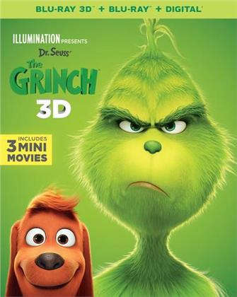 The Grinch (2018) (Blu-ray 3D + Blu-ray)