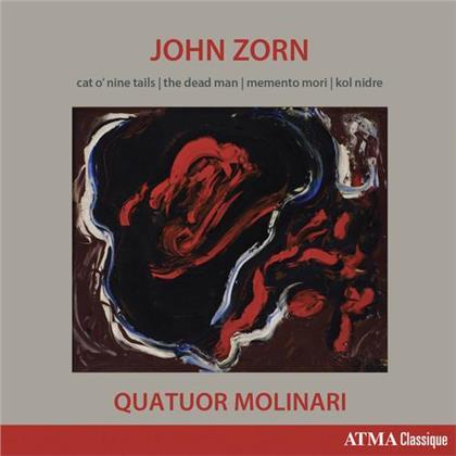 Molinari Quartet & John Zorn - Cat O'Nine Tails, The Dead Man, Memento Mori, Kol Nidre