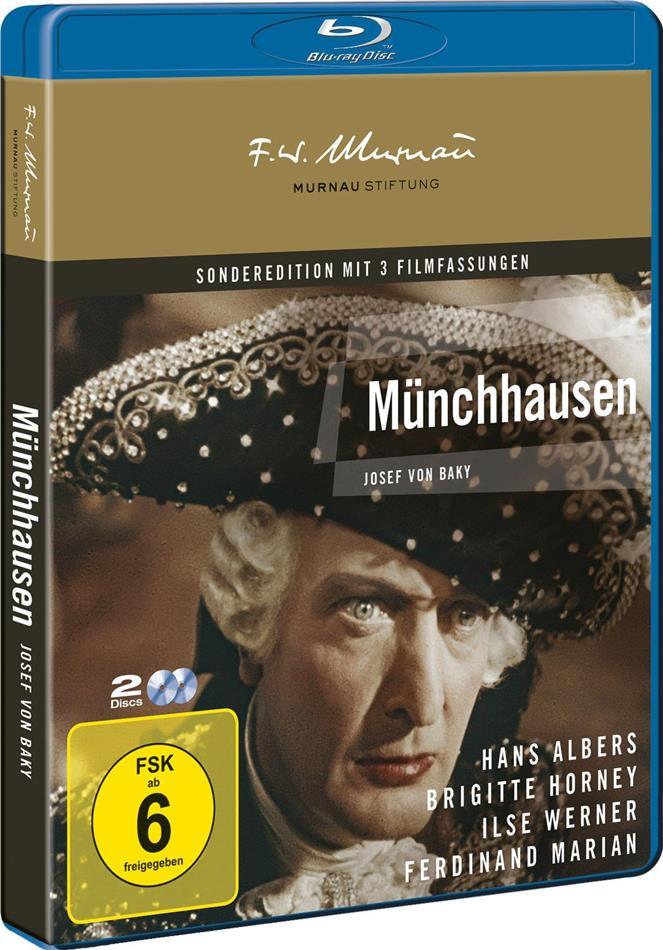 Münchhausen (1943) (Remastered, 2 Blu-rays)