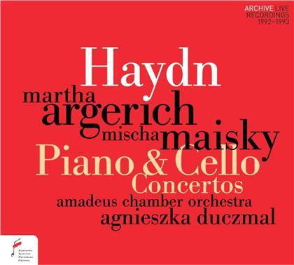Joseph Haydn (1732-1809), Mischa Maisky, Martha Argerich & Amadeus Chamber Orchestra - Piano & Cello Concertos - Klavierkonzert & Cellokonzert
