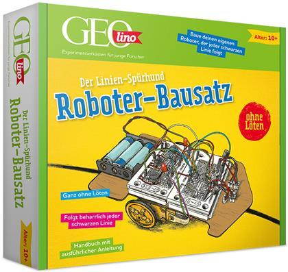 GEOlino Roboter-Bausatz - Der Linien Spürhund; .