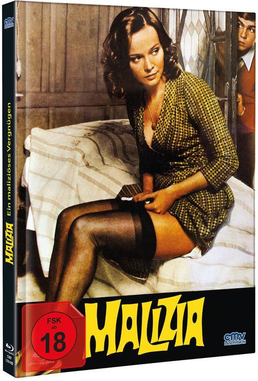 Malizia - Ein maliziöses Vergnügen (1973) (Limited Edition, Mediabook, Uncut)
