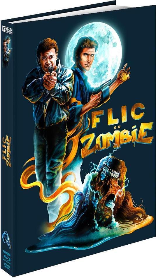 Flic ou Zombie (1988) (Limited Edition, Mediabook, Restaurierte Fassung, Blu-ray + DVD)