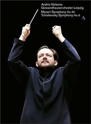 Gewandhaus Orchester Leipzig & Andris Nelsons - Tchaikovsky - Symphony No. 6 / Mozart - Symphony No. 40 (Accentus Music)