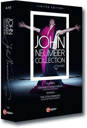 John Neumeier Collection - Nijinsky / Weihnachtsoratorium (Christmas Oratorio) / Tatiana / The Little Mermaid (Die kleine Meerjungfrau) (4 Blu-rays)