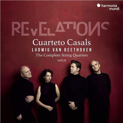 Cuarteto Casals & Ludwig van Beethoven (1770-1827) - Sämtliche Streichquartette Vol. 2 - Complete String Quartets Vol. 2