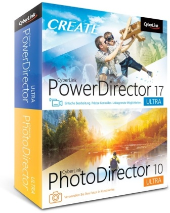 CyberLink PowerDirector 17 Ultra & PhotoDirector 10 Ultra Duo