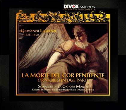 Sonatori De La Gioiosa Marca & Giovanni Legrenzi (1626-1690) - La Morte Del Cor Penitente - Oratorio In Due Parti