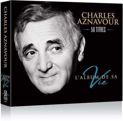 Charles Aznavour - L'Album De Sa Vie - 50 Titres (Digipack, 3 CDs)