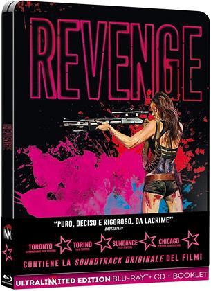 Revenge - (Ultralimited Edition) (2017) (Steelbook, Blu-ray + CD)