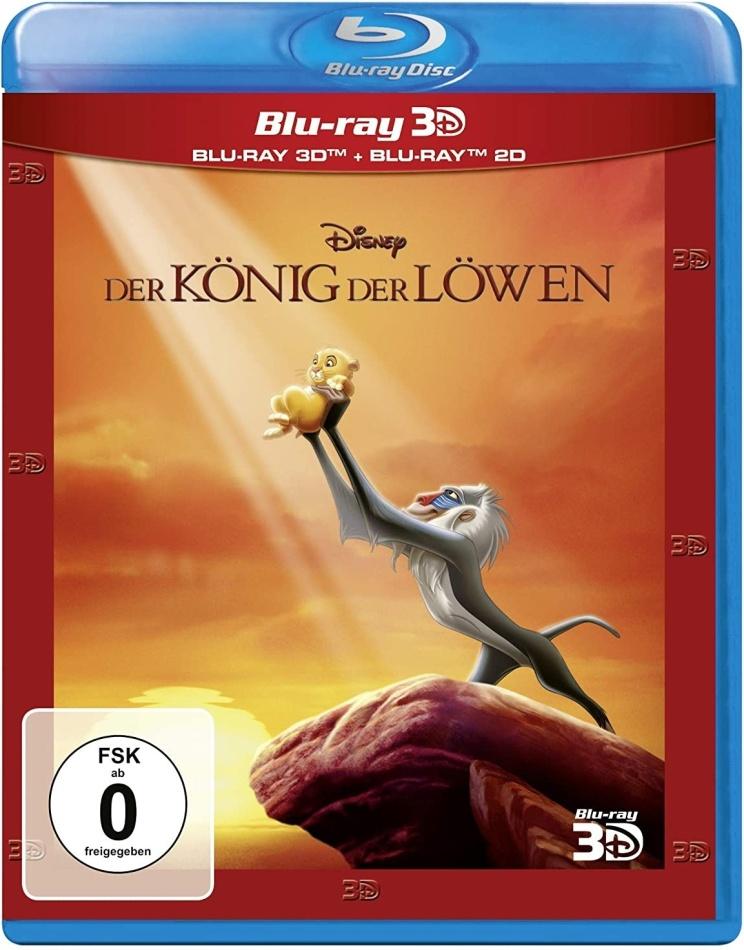 Der König der Löwen (1994) (Blu-ray 3D + Blu-ray)