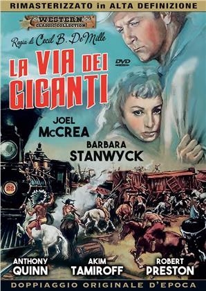 La via dei giganti (1939) (Classic Western Collection, HD Remastered, Doppiaggio Originale D'epoca, n/b)