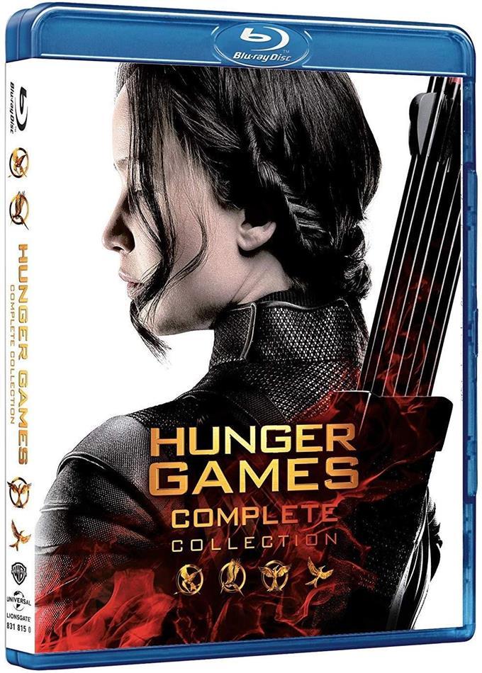 Hunger Games - Nuova Collezione Completa (4 Blu-ray)