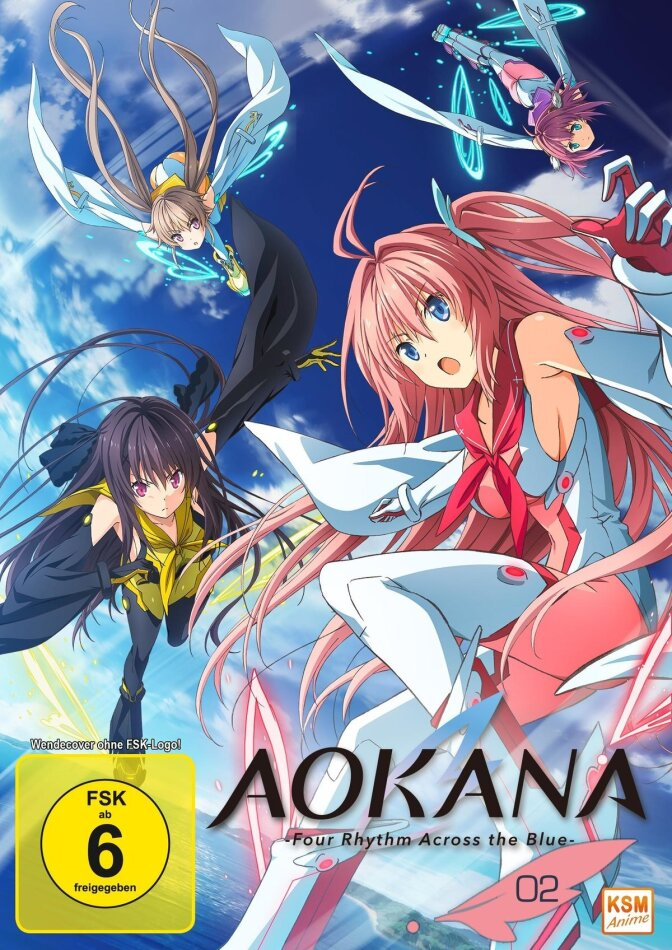 Aokana - Four Rhythm Across the Blue - Staffel 1 - Vol. 2