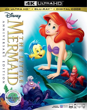 The Little Mermaid (1989) (The Walt Disney Signature Collection, 30th Anniversary Edition, Ultimate Collector's Edition, 4K Ultra HD + Blu-ray)