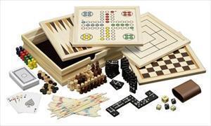 Holz-Spielesammlung 10 - klein