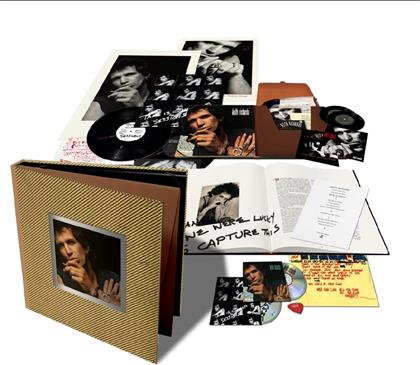 """Keith Richards - Talk Is Cheap (2019 Reissue, Super Deluxe Box Set, 2 LPs + 2 7"""" Singles + 2 CDs)"""