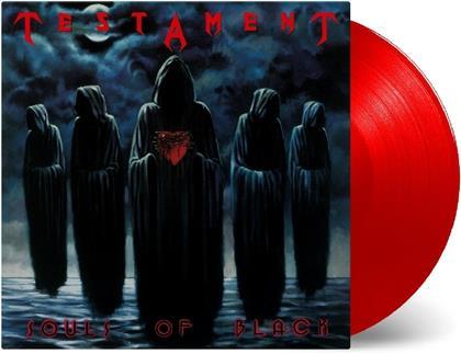 Testament - Souls Of Black (Music On Vinyl, 2019 Reissue, Red Vinyl, LP)