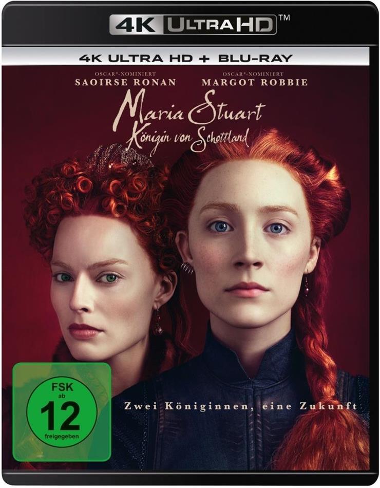 Maria Stuart - Königin von Schottland (2018) (4K Ultra HD + Blu-ray)